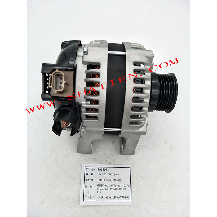 MAZDA alternator CA1865IR 104210-3512 Y601-18-300