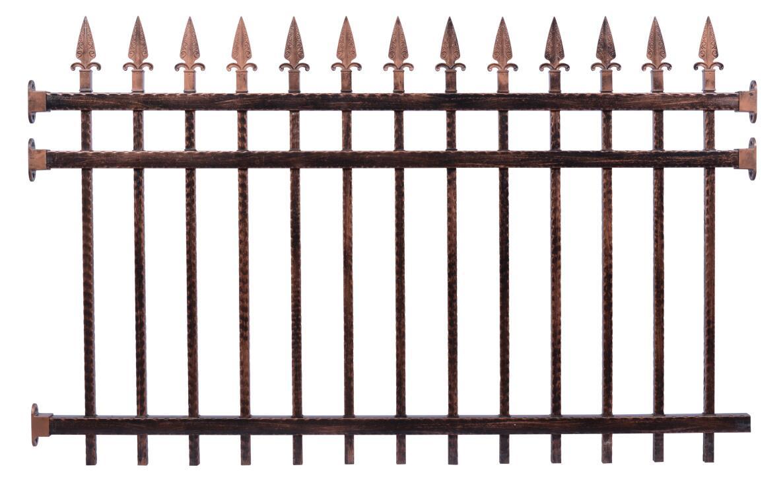 锌钢护栏W001