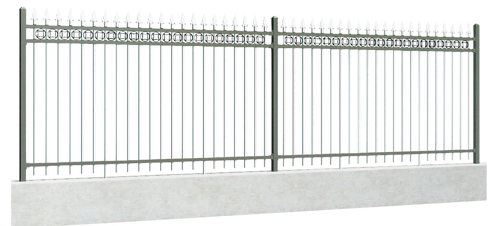 锌钢护栏W003