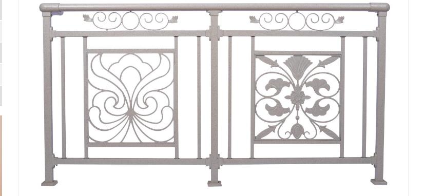 锌钢阳台栏杆H007