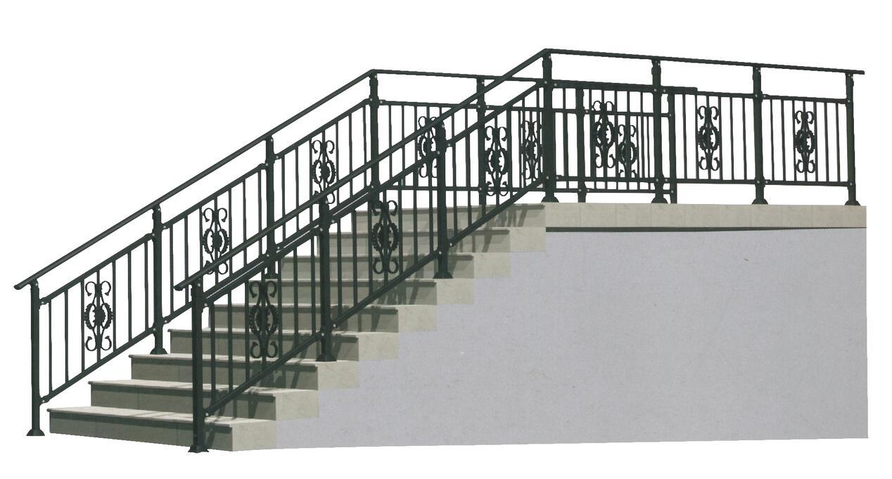 楼梯扶手L001
