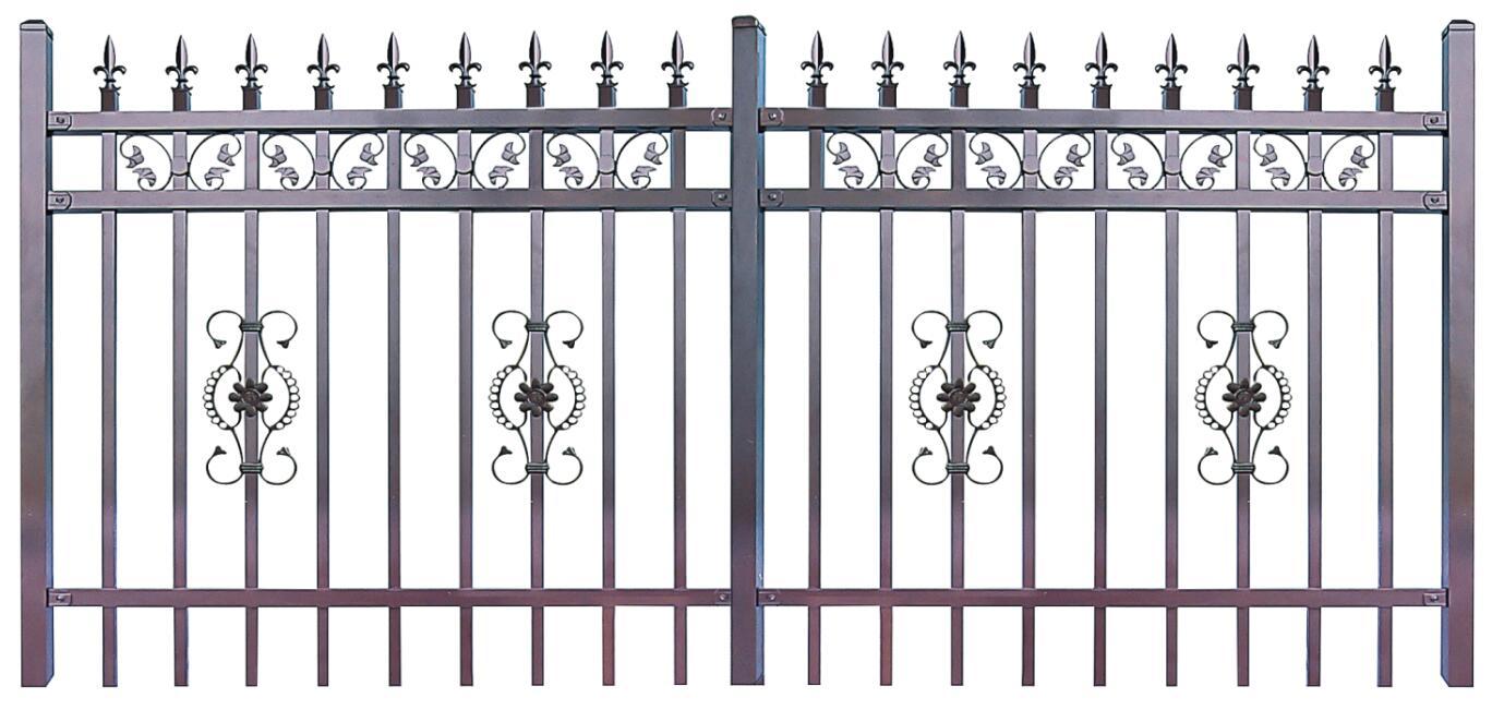 锌钢栅栏的优势