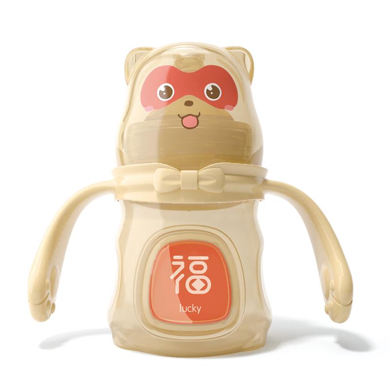 宝升babybetter小浣熊宽口径奶瓶
