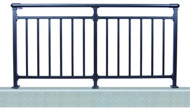 锌钢阳台栏杆H001