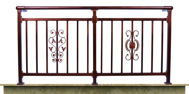 锌钢阳台护栏H009