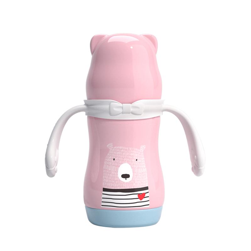 宝升babybetter宽口径不锈钢保温奶瓶