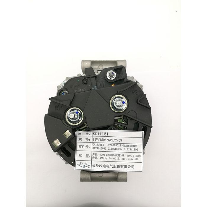 奔驰V200  220CDI发电机CA1630IR,0121544602,0111547002,0124615033,SD11151
