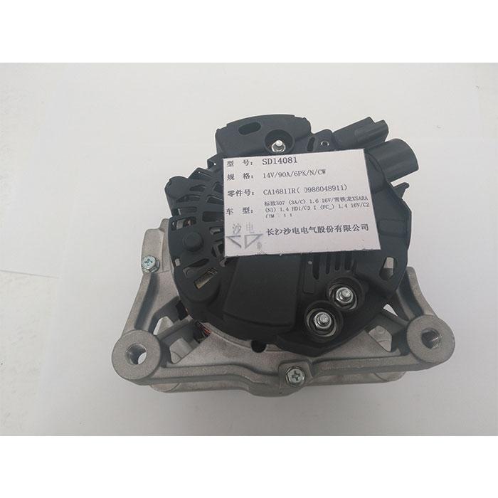 标志307 16V 1.6发电机9649611680,0986048911,57058E,SD14081