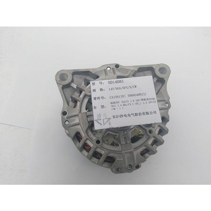 雪铁龙1.4 16V发电机9642879780,CA1681IR,5702A4,SG10B023