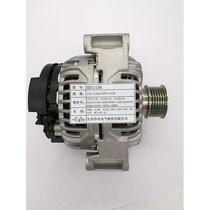 Bosch new alternator 0124515190 CA1477IR A0091543602 1621543402