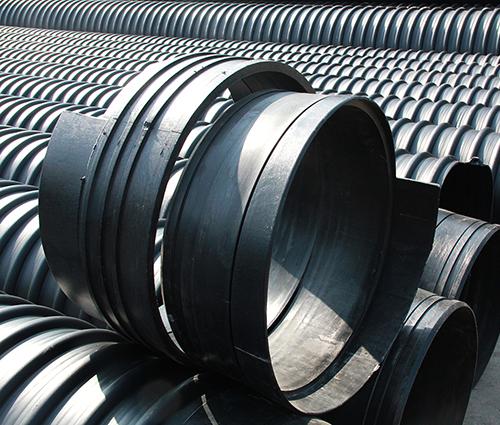 承插式鋼帶加強聚乙烯(PE)螺旋波紋管