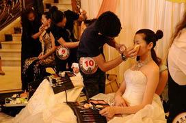 夏杨女士任第九届省发型化妆美甲技能竞赛总评判长