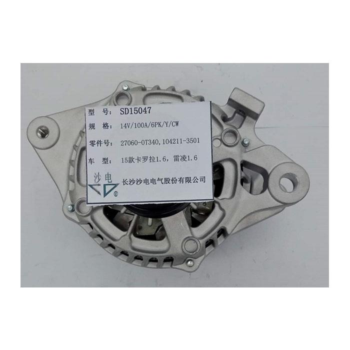 卡羅拉雷凌1.6發電機270600T340,1042113501,SD15047