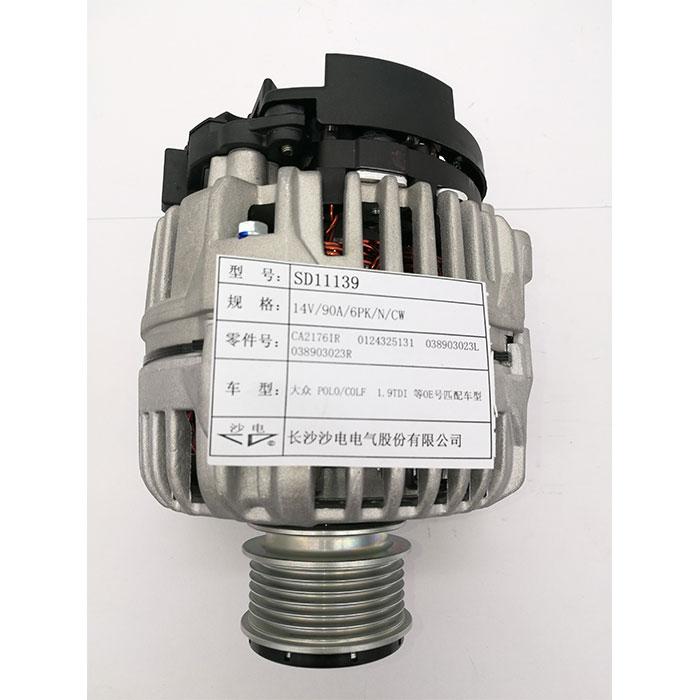 波羅1.9TDI發電機0124325001,038903023R,SD11139