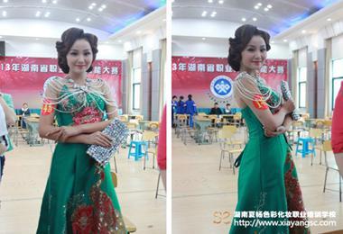 夏杨色彩在省级赛事中争金夺银