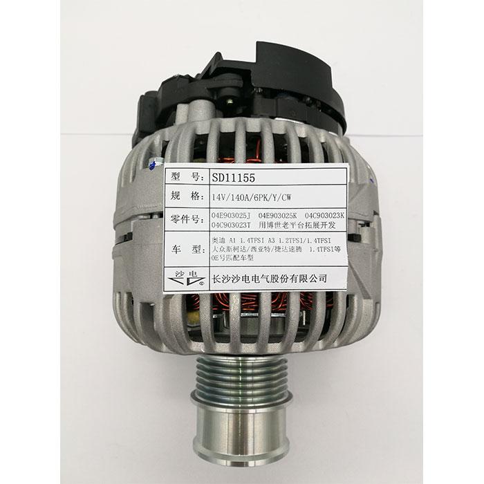 速腾1.4TFSI发电机04E903025JX,04E903021R,F000BLO8P4