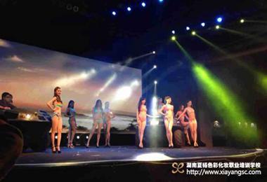 2013环球小姐总决赛 夏杨团队独家造型