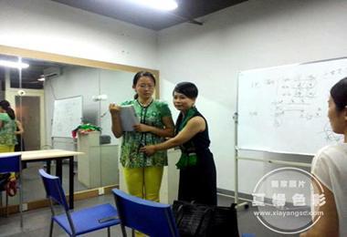 夏杨色彩第三期礼仪班毕业典礼完美落幕