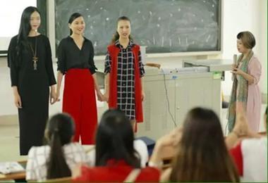 年轻是本钱 形象能加分——夏杨携手孙臻臻打造美丽课堂