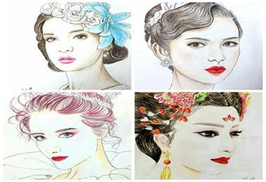 第一届纸妆美人图大赛启动
