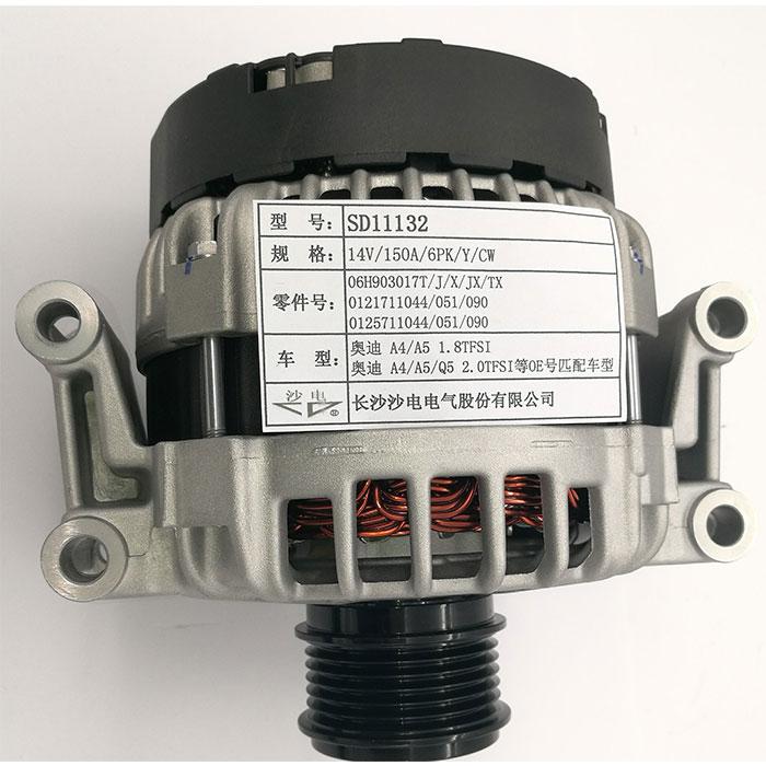 A4 A5 Q5 2.0TFSI發電機06H903017T,0125711051,0125711090