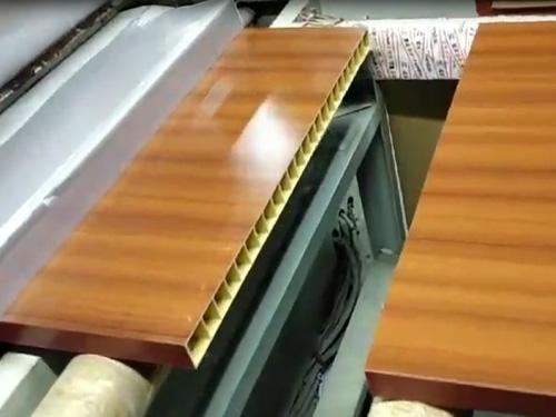 航天康达树脂门热转印工艺