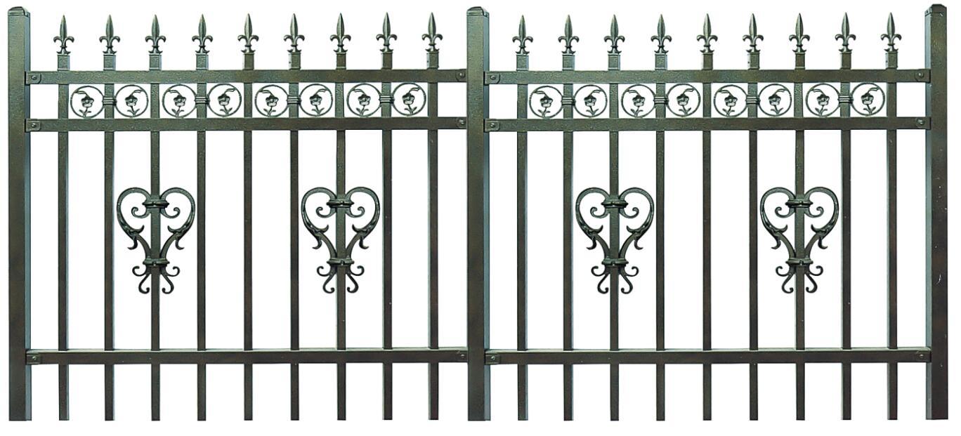 锌钢栅栏多少钱一米