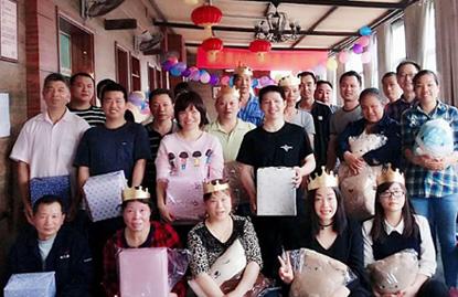 情乐融融——航天康达举办第二届员工生日会
