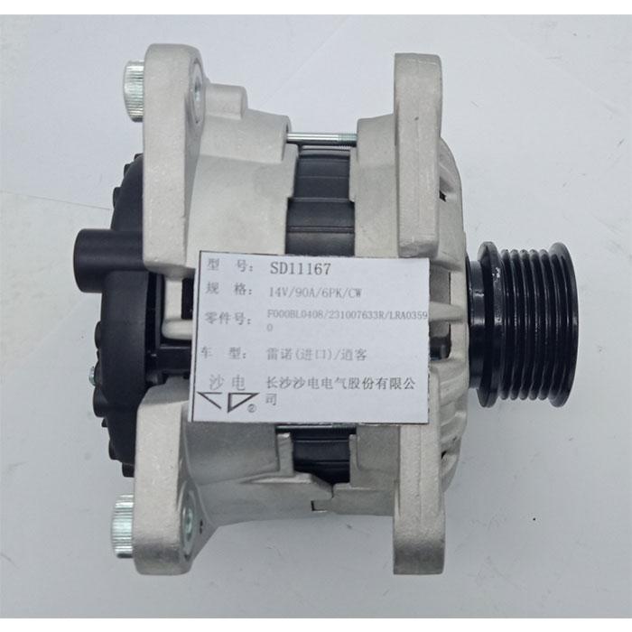 日产发电机231007633R,LRA03590,SD11167