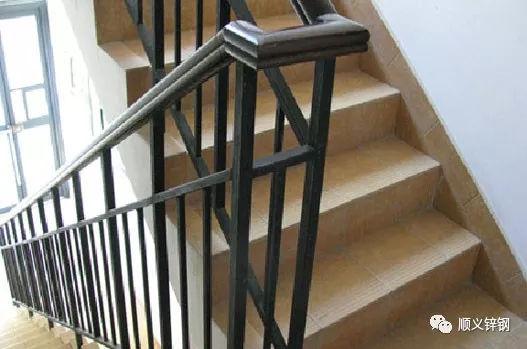 顺义防护-您不可不知的锌钢楼梯扶手