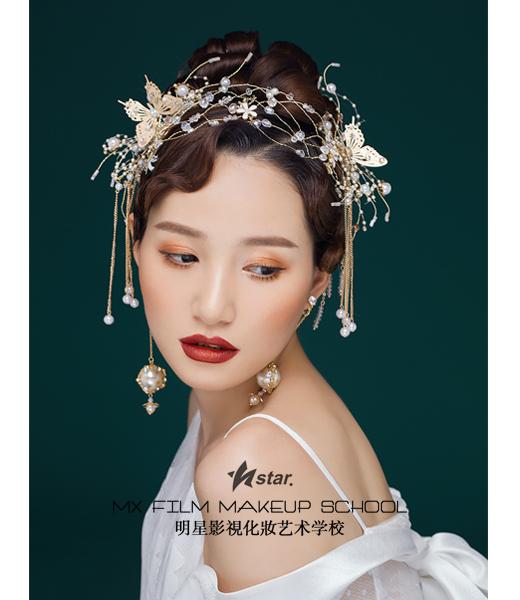 湖南化妝造型培训学校学员作品