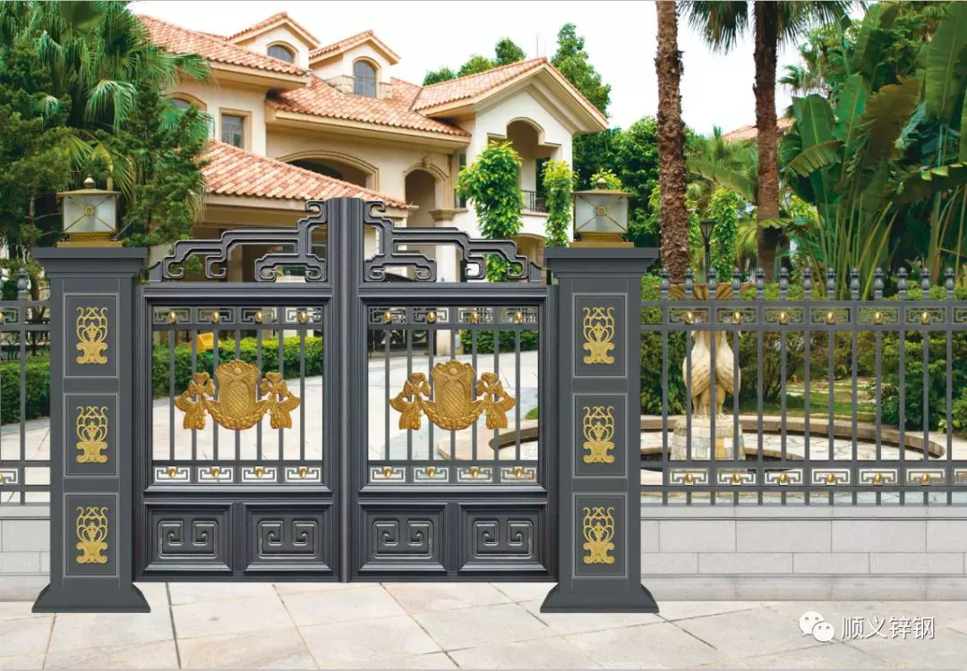 别墅铝合金大门,名门豪宅专属,但是你真的会选?
