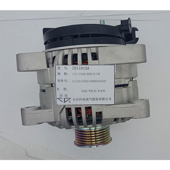 Citroen alternator 57055H 0124615002 A004TF0091A