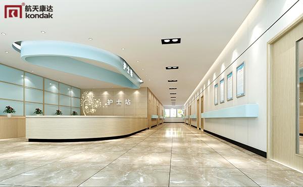 诊所大厅|护士站效果图欣赏