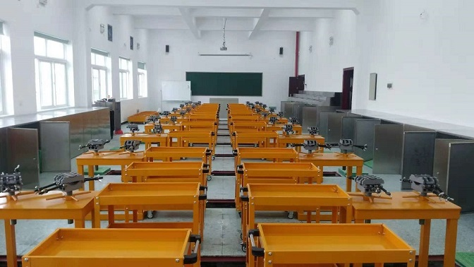 電力電纜實訓室建設(長沙電力職業技術學院)