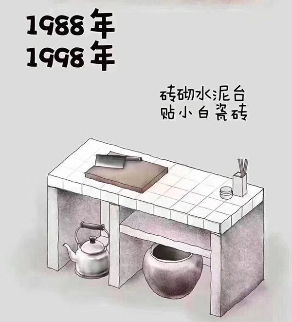 80、90年代厨房橱柜