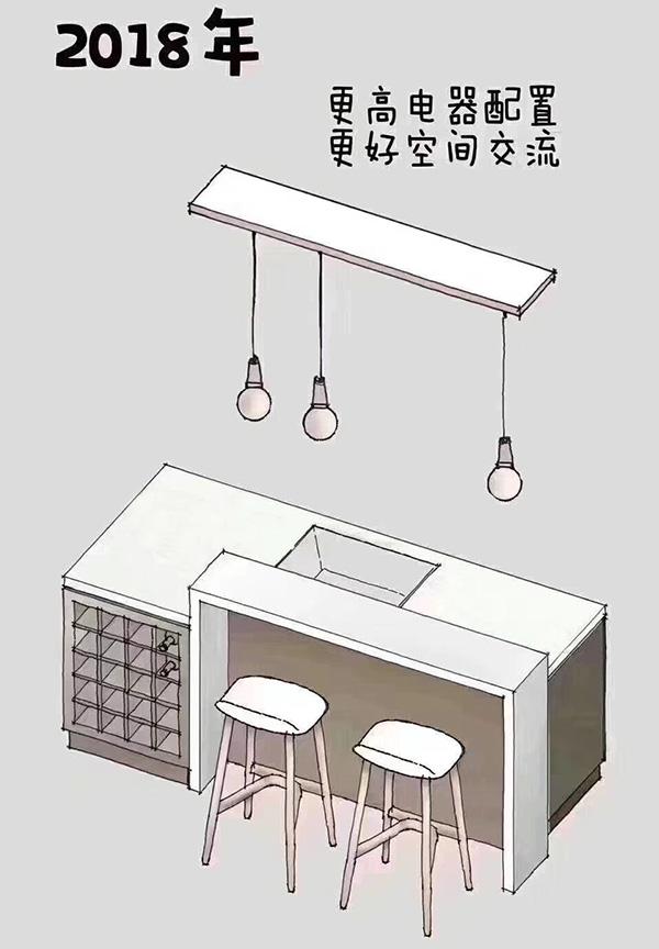 现代整体橱柜