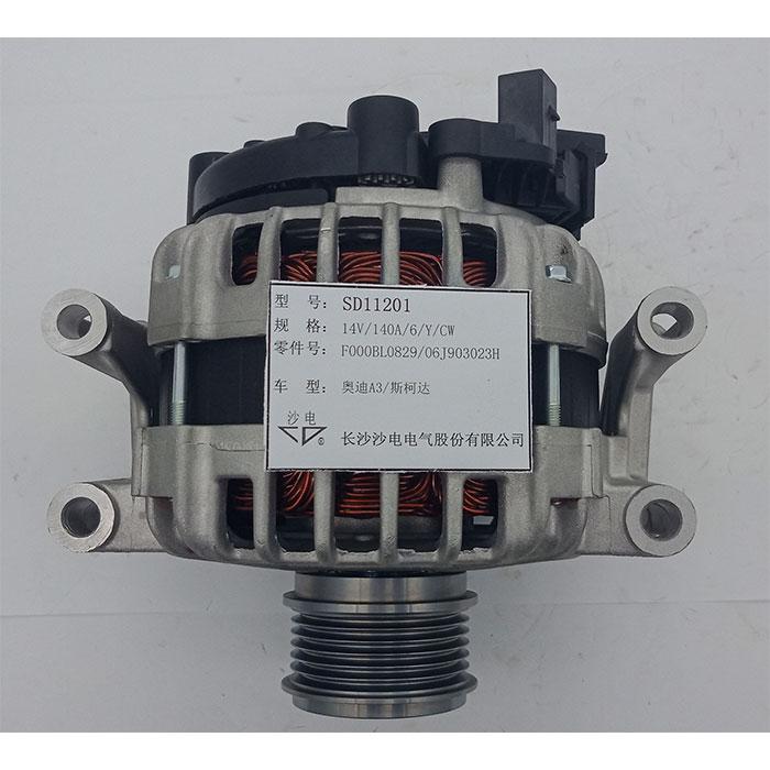 奧迪A3發電機06J903023G,F000BL0803,SD11201