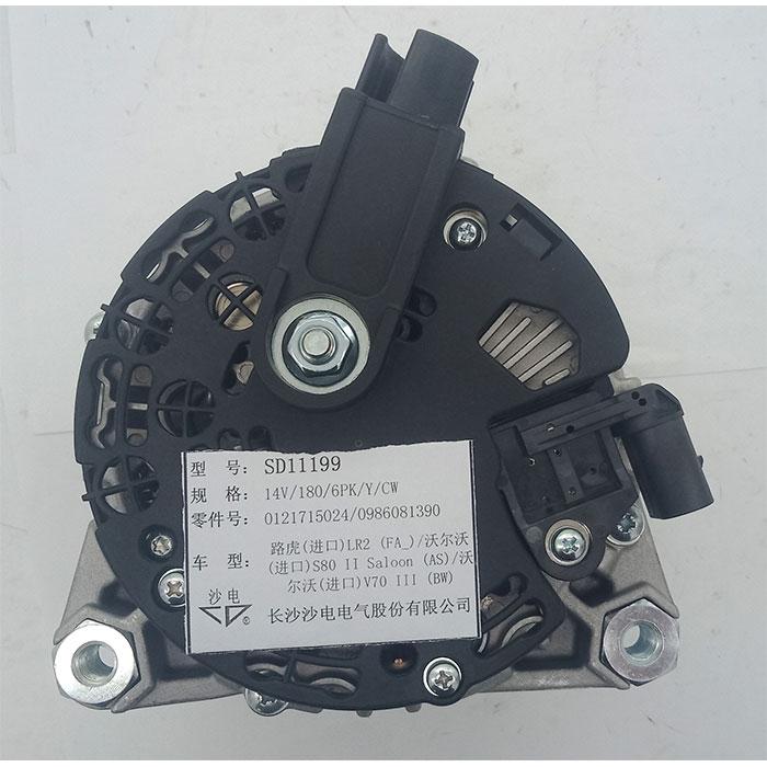 路虎发电机LR001200,0121715024,6G9N10300YC,SD11199