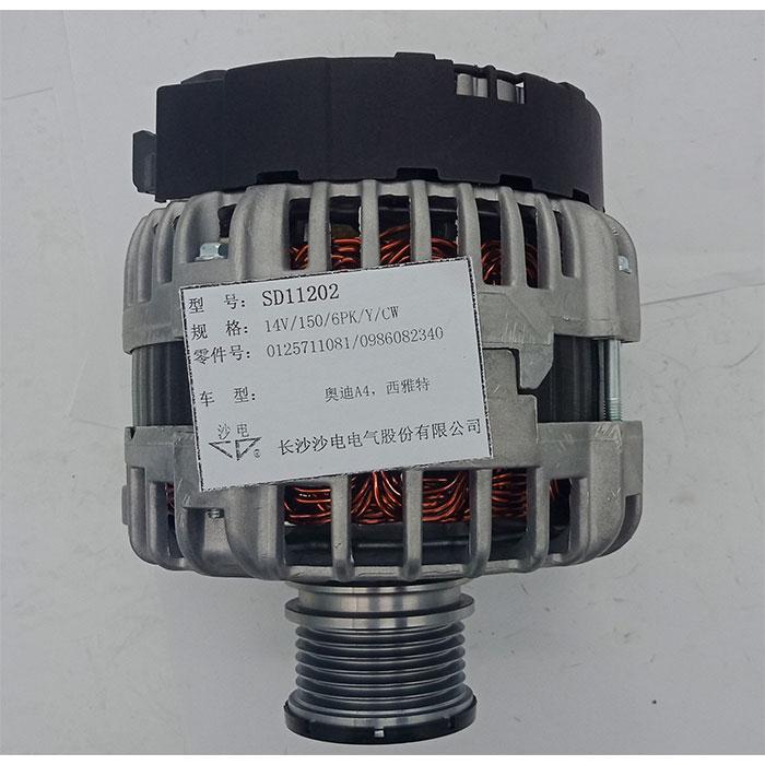 奥迪A4发电机0125711034,03L903017E,03L903017EX,SD11202