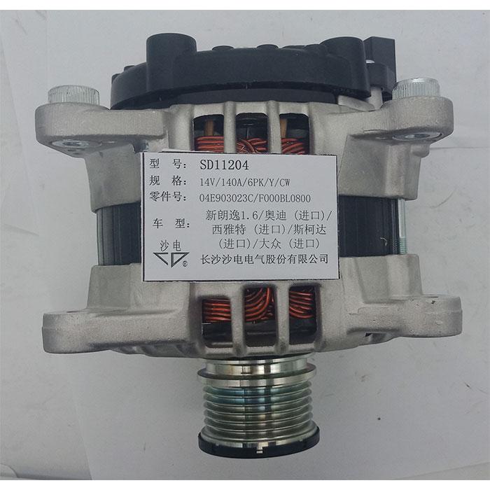 西雅特发电机0986083160,DRA1167,04E903023C,SD11204