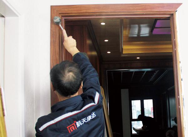 门框安装图
