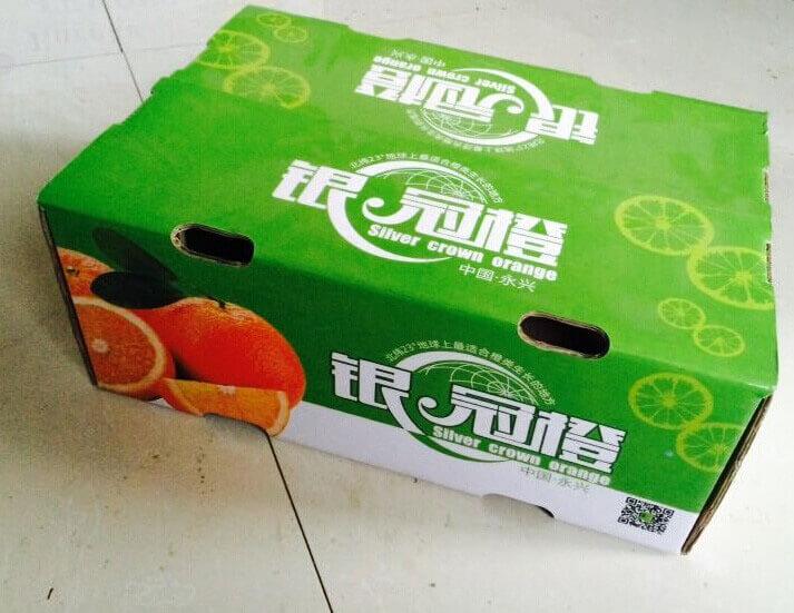 銀冠橙-彩箱