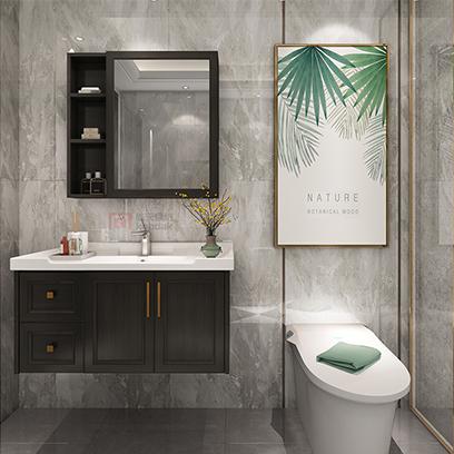 浴室柜厂家 现代简约 卫浴柜组合 洗漱台 洗手洗脸盆YSG001