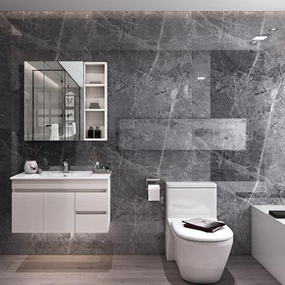现代浴室柜组合 卫浴柜 卫生间洗漱台YSG003