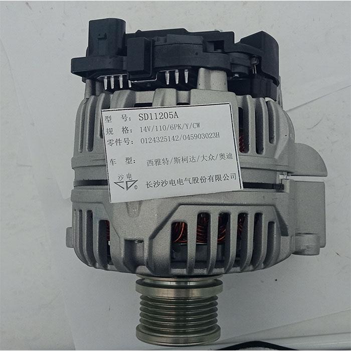 波罗1.4 TDI发电机045903023H,286515,045903023HX