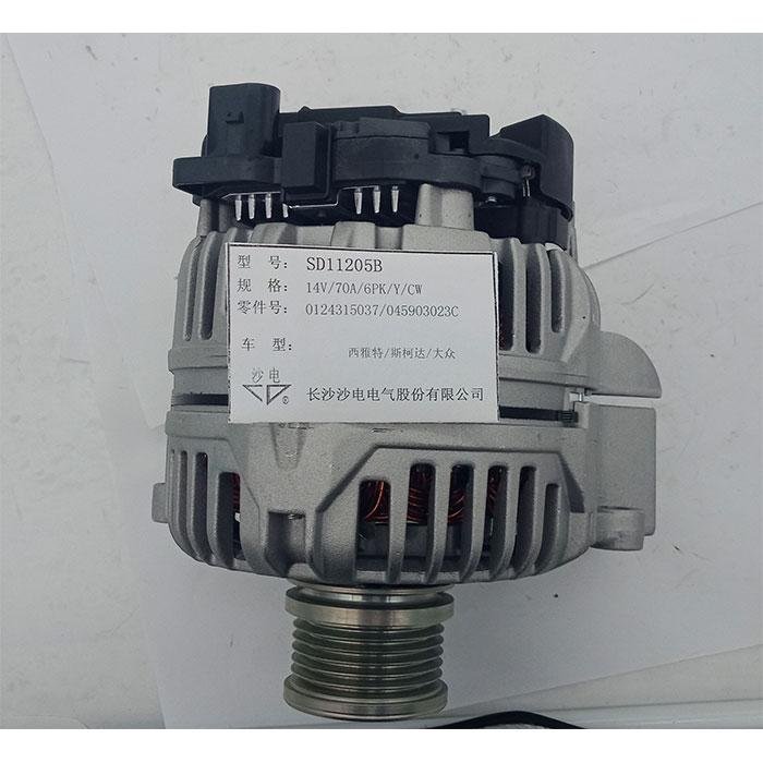 波羅1.4 TDI發電機70A,045903023C,0124315037