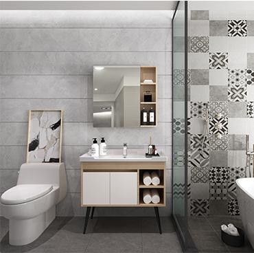 北歐古代繁復 廠家直銷 浴室櫃 洗臉盆YSG004