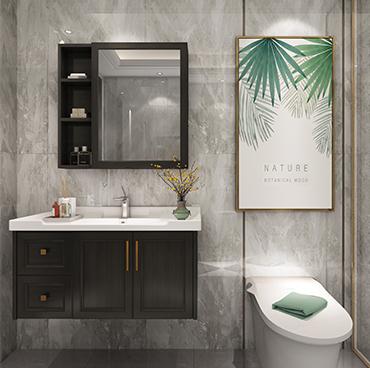 浴室櫃廠家 古代繁復 衛浴櫃組合 洗漱台 洗手洗臉盆YSG001