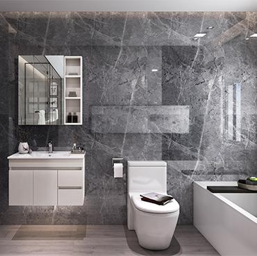 古代浴室櫃組合 衛浴櫃 洗手間洗漱台YSG003